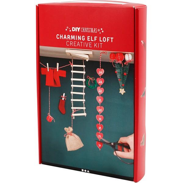 Kit de création calendrier de l'avent - Loft pour Elfe - Photo n°3