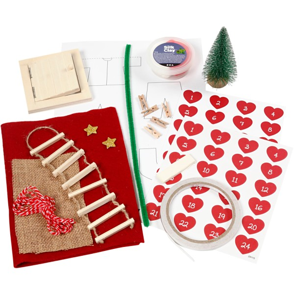 Kit de création calendrier de l'avent - Loft pour Elfe - Photo n°5