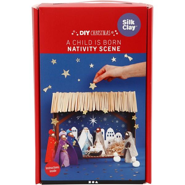 Kit de création - Crèche de Noël - Photo n°2