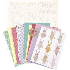 Kit de décoration en papier - Pâques