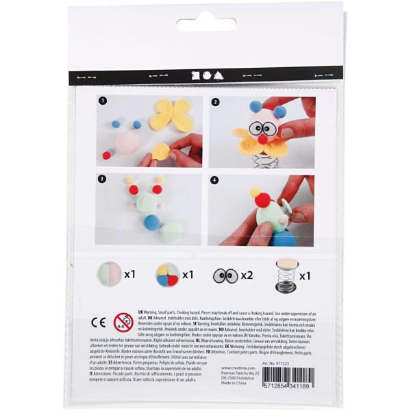 Kit créatif Silk Clay - Clown - Photo n°3
