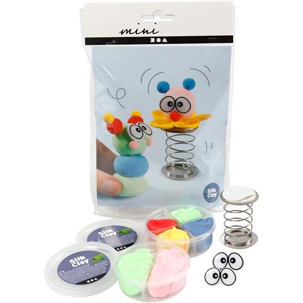 Kit créatif Silk Clay - Clown - Photo n°1