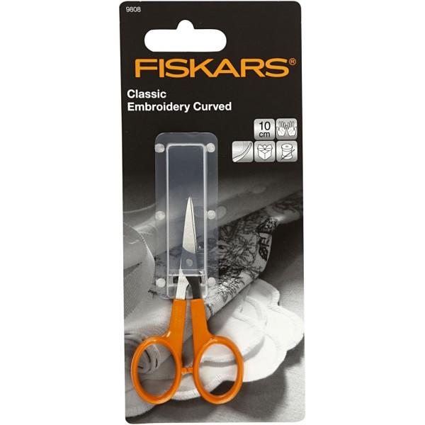 Ciseaux de précision Fiskars - Lame courbée - 10 cm - Photo n°2