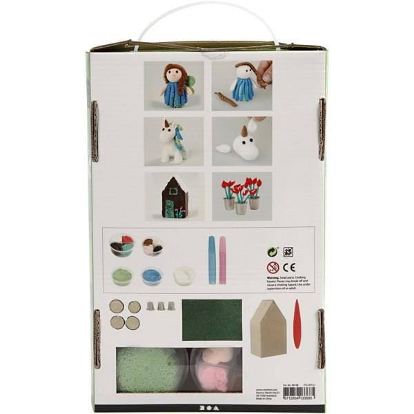 Kit créatif pâte à modeler - Le monde féerique - Photo n°3