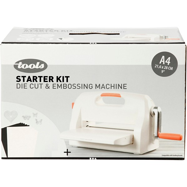 Kit machine débutant - Couper et embosser - A4 - 17 pcs - Photo n°2