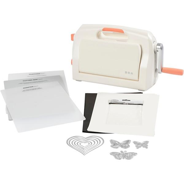 Kit machine débutant - Couper et embosser - A4 - 17 pcs - Photo n°1