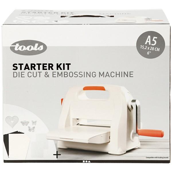 Kit machine débutant - Couper et embosser - A5 - 17 pcs - Photo n°3