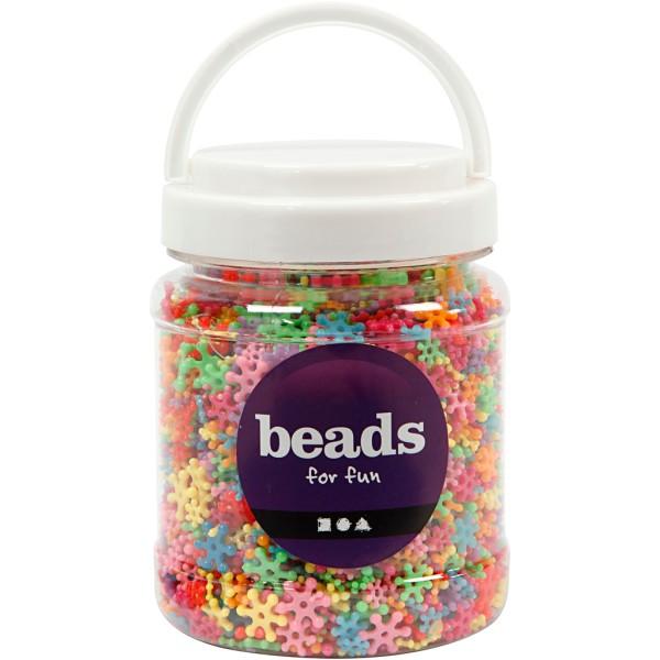 Assortiment de perles fantaisie - De 7 à 13,5 mm - 4000 pcs environ - Photo n°2