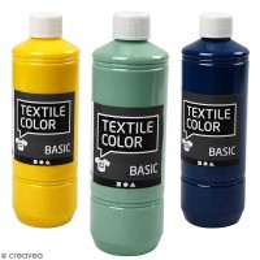 Peinture textile 500 ml