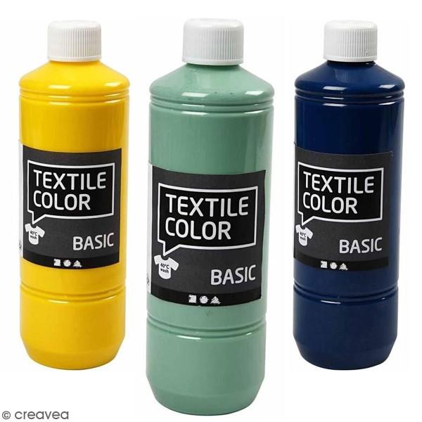 Peinture textile 500 ml - Photo n°1