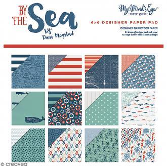 Papier Scrapbooking Artemio - By The Sea - 15,2 x 15,2 cm - 24 feuilles