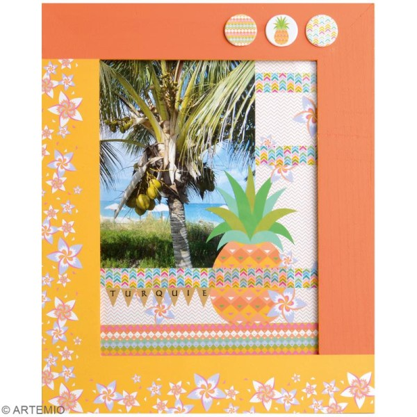 Papier Scrapbooking Artemio - Best of Summer - 30,5 x 30,5 cm - 180 feuilles - Photo n°2