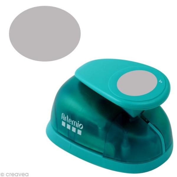 Perforatrice jumbo Ovale - 7,6 cm - Photo n°1