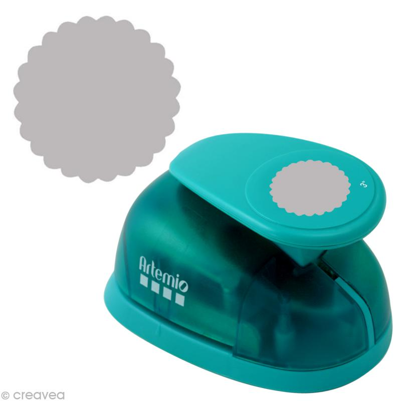 Perforatrice jumbo Cercle dentellé - 7,6 cm - Photo n°1