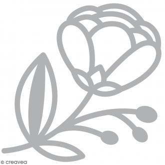 Die Artemio Fleur avec tige - 1 matrice de découpe