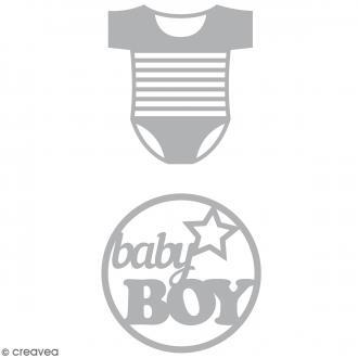 Dies Artemio Boy Body - 2 matrices de découpe