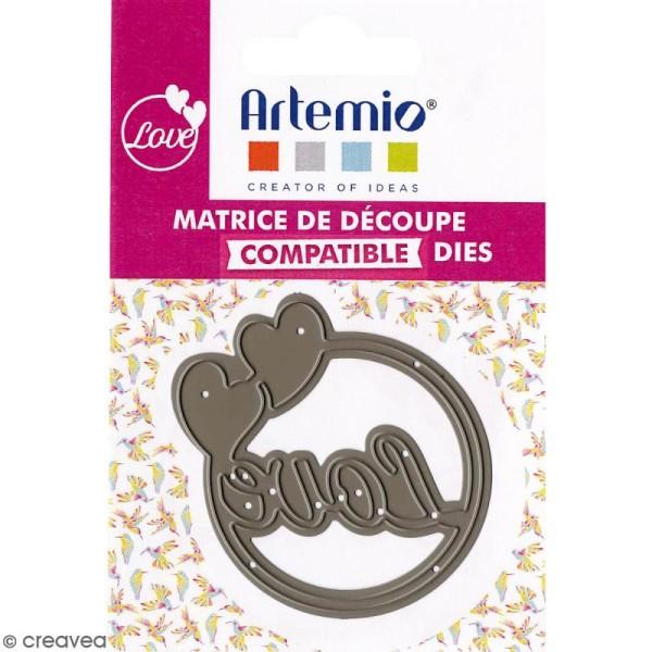 Die Artemio Love coeurs - 1 matrice de découpe - Photo n°2