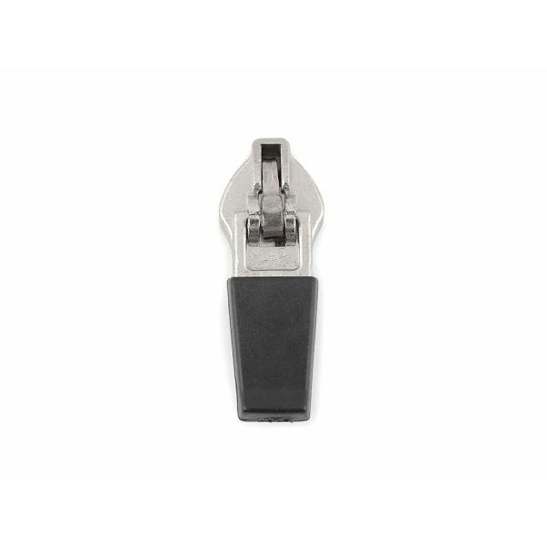 5pc Nickel Curseur Zip en Nylon Réfléchissant Fermetures à glissière 5mm, Curseurs Et Autres, Mercer - Photo n°1