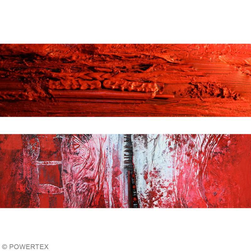 Powertex solidifiant tissu - Rouge (Edition limitée) - 1 kg - Photo n°6