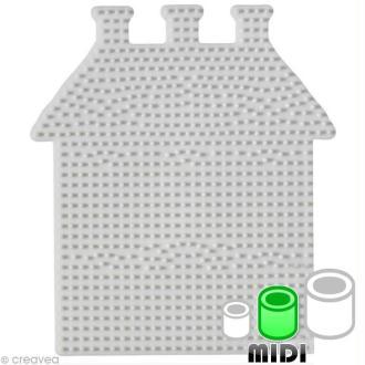Plaque pour perles Hama Midi - Maison