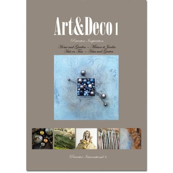 Livre Powertex Inspiration - Art & Deco 1 - Photo n°1