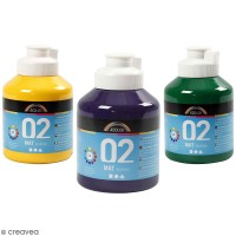 Peinture acrylique mate A-Color - 500 ml