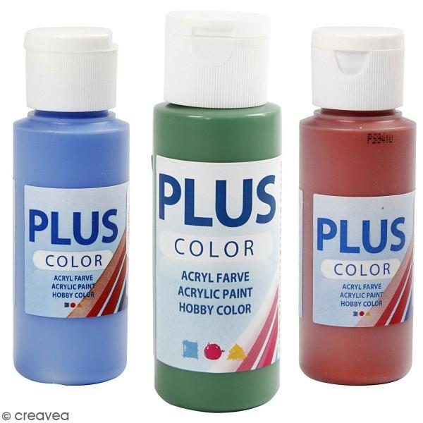 Peinture acrylique Plus Color - 60 ml - Photo n°1