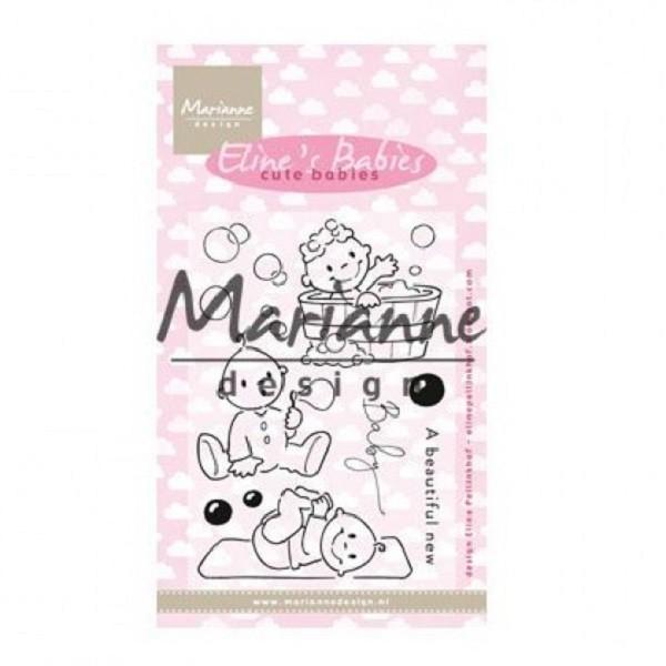 Tampon clear Marianne Design - Eline's Cute Babies - Bébé - Photo n°1