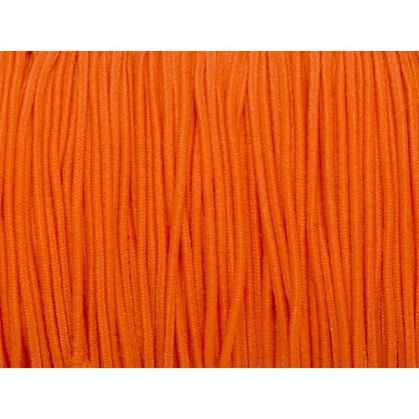 5m Fil Élastique Orange Fluo 1mm - Photo n°2
