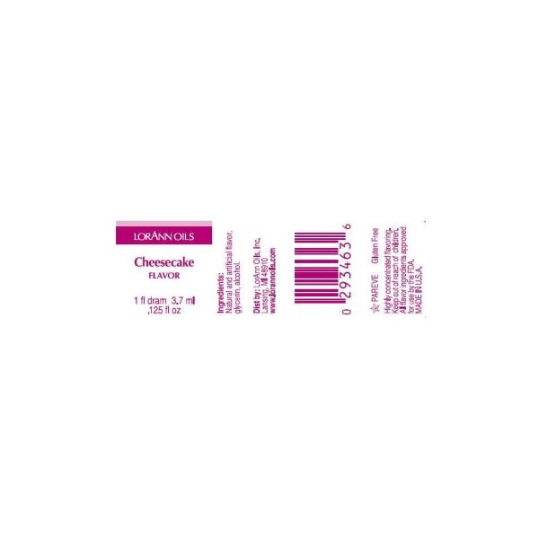 Arôme extra fort - Cheesecake - 3.7 ml - Photo n°3
