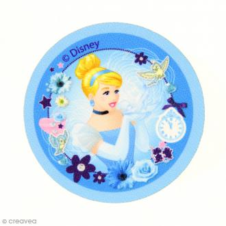 Ecusson imprimé thermocollant - Princesses Disney - Cendrillon