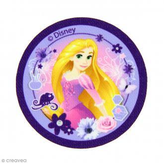 Ecusson imprimé thermocollant - Princesses Disney - Raiponce
