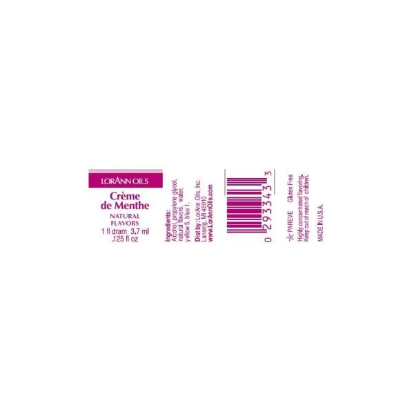Arôme extra fort - Crème de menthe - 3.7ml - Photo n°2