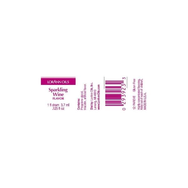 Arôme extra fort - Vin pétilant- 3.7ml - Photo n°2