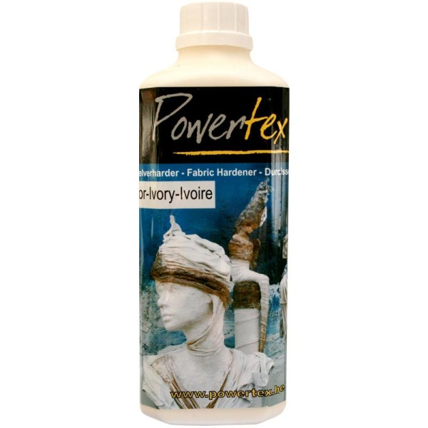 Powertex solidifiant tissu 500 g Ivoire - Photo n°1