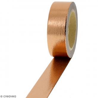 Masking tape Foil Cuivré uni - 1,5 cm x 10 m