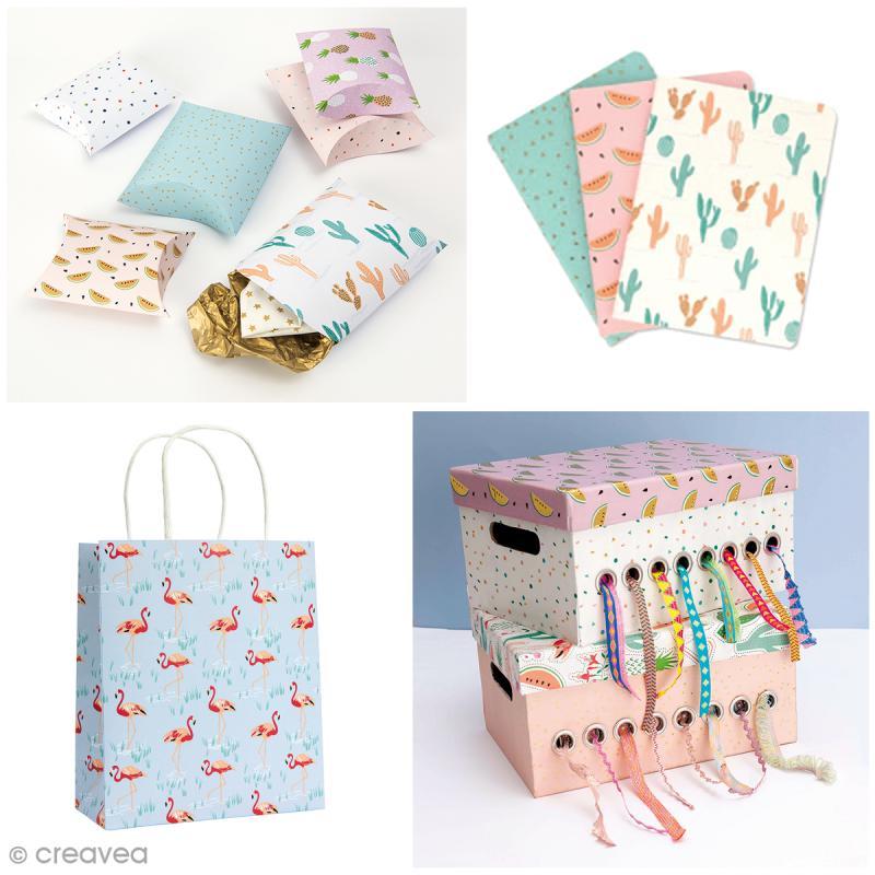 Etiquettes cadeaux et ficelle twine - 31 pcs - Photo n°2