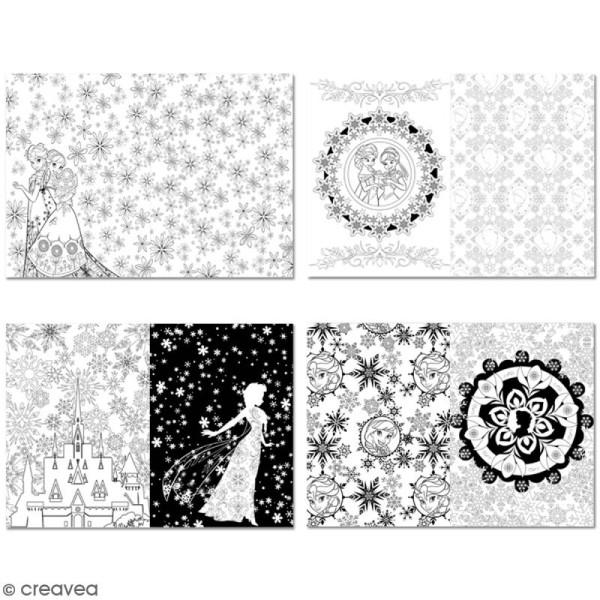 Livre Coloriage Reine Des Neiges.Livre Coloriage Adulte Anti Stress A4 Frozen Reine Des Neiges