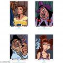 Livre Coloriage Adulte A4 Mysteres Classiques Disney