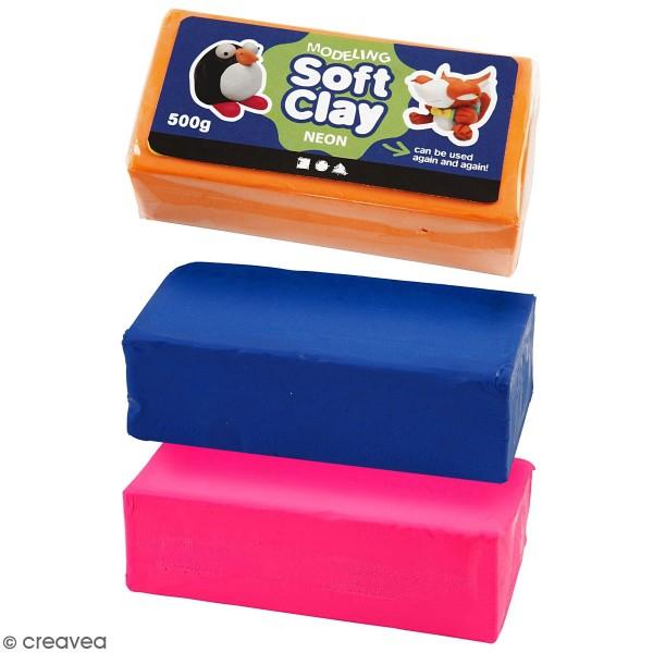 Pâte à modeler douce Soft Clay - 500 gr - Photo n°1