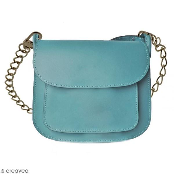 Anse Leandra pour sac à main - Chaine laiton antique - 7 mm x 88 cm - Photo n°2