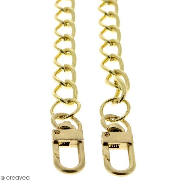 Anse Kate pour sac à main - Chaine dorée - 10 mm x 70 cm - Photo n°3