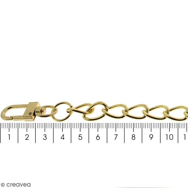 Anse Kate pour sac à main - Chaine dorée - 10 mm x 70 cm - Photo n°4