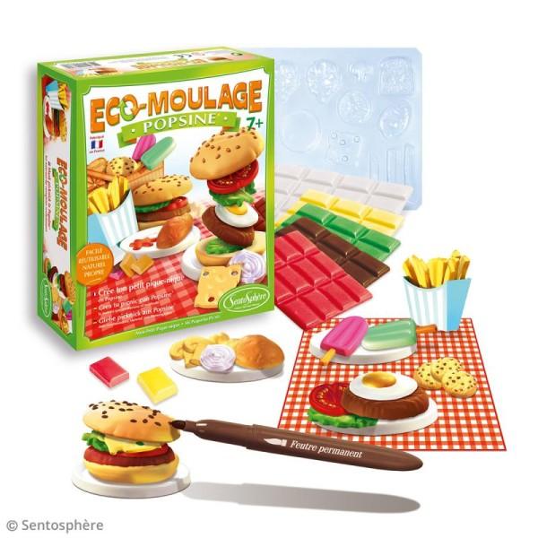 Coffret Eco-moulage Popsine - Mon petit pique-nique - Photo n°2