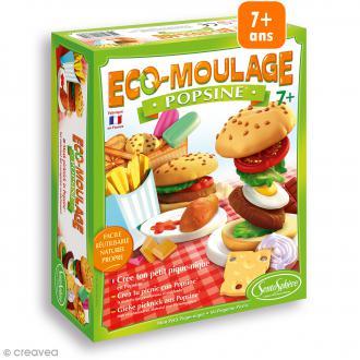 Coffret Eco-moulage Popsine - Mon petit pique-nique