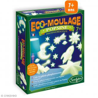 Coffret Eco-moulage Popsine phosphorescente - Ma petite galaxie