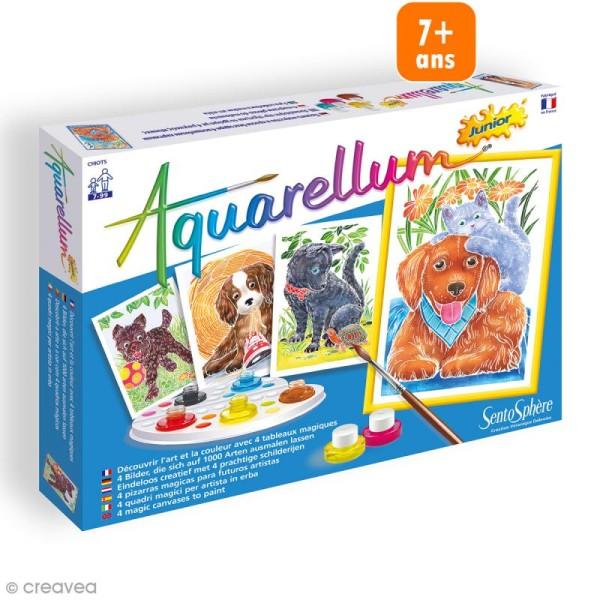 Jeu créatif Aquarellum - Chiots - Photo n°1