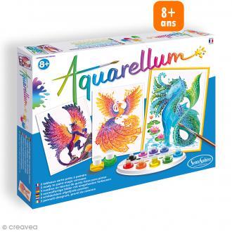 Jeu créatif Aquarellum - Animaux mythiques