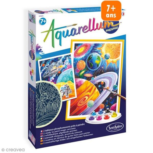 Jeu créatif Aquarellum - Cosmos phosphorescent - Photo n°1