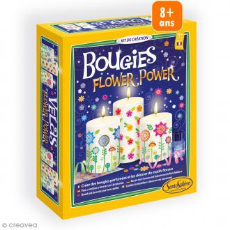 Kit bougies Flower Power